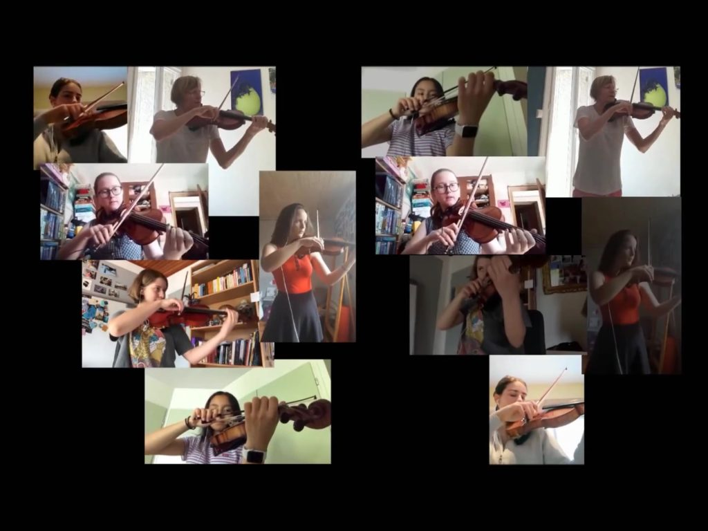 Violons (Géraldine Ayache) – Etude 75 de Radionov